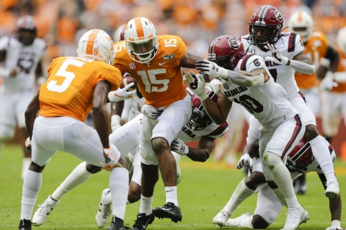 Odds: South Carolina double-digit dogs at Tennessee