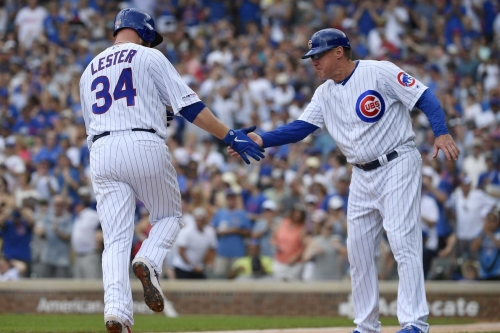 With the universal DH likely coming in 2022, here are a number of 'lasts' for Cubs pitchers at bat