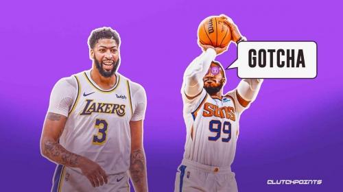 Suns' Jae Crowder takes dirty cheap shot at Lakers star Anthony Davis
