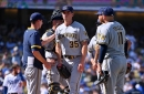 Brewers announce NLDS roster, carrying 11 pitchers and 15 bats