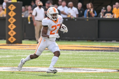 After last week's offensive outburst, Tennessee hosts South Carolina