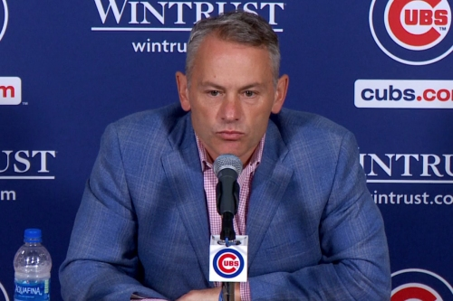 Who should Jed Hoyer choose as Cubs general manager from among 4 reported finalists?