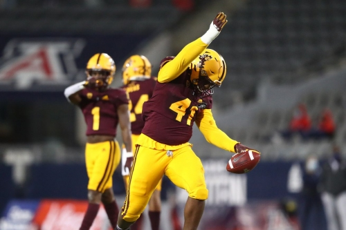 ASU Football: Tyler Johnson recognized as National Defensive Player of the Week