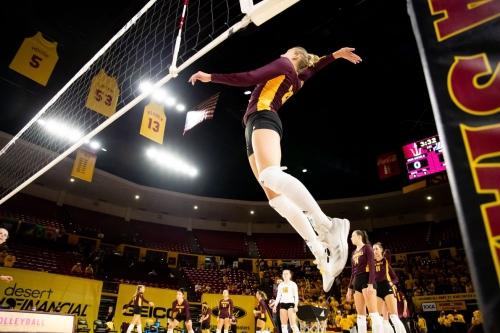 ASU Volleyball: Sun Devils nearly pull off the upset of No. 11 Washington