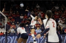 Washington State's experience is too much for Arizona volleyball in straight-set defeat