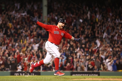 Red Sox 6, Rays 4: Christian Vázquez walks off a wild one