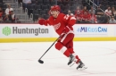 Red Wings set 23-man roster for NHL opening day