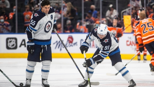 Jets prospect Cole Perfetti earns spot in opening night lineup