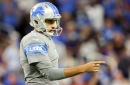 Lions protect Ryan Santoso, suggesting the kicker competition is still on