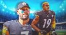Steelers QB Ben Roethlisberger reacts to JuJu Smith-Schuster's season-ending injury