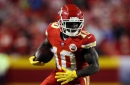 Tyreek Hill, Chris Jones and 4 others are not practicing Wednesday