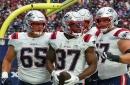 Patriots vs. Cowboys Wednesday injury report: Damien Harris, Shaq Mason listed as non-participants