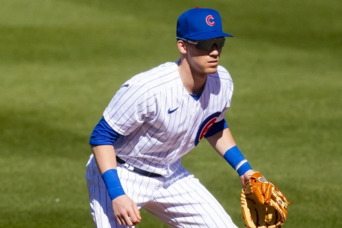 Cubs players in the Arizona Fall League and assessing the 40-man roster
