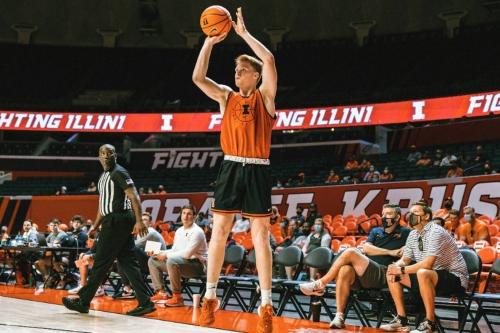 Illinois Basketball Player Preview: Luke Goode