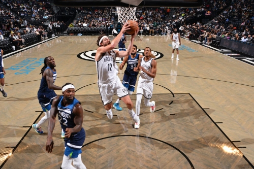 Nets conclude final tune-up with win over Timberwolves, 107-101