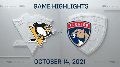 NHL Highlights: Panthers 5, Penguins 4