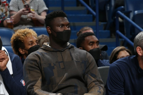 Zion Williamson Won't Start Season for Pelicans