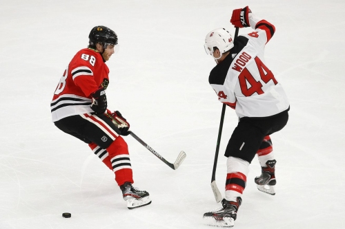 Blackhawks at Devils: First period discussion