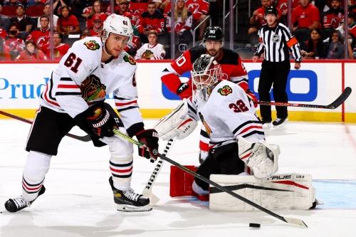 Blackhawks at Devils: Second period discussion