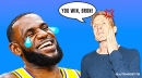Lakers star LeBron James receives shocking compliment from Skip Bayless