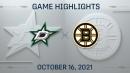 NHL Highlights: Bruins 3, Stars 1