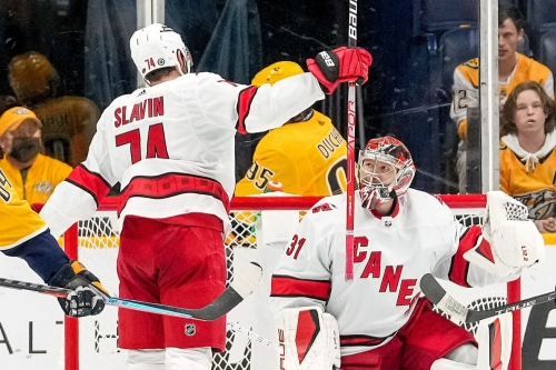 They Said It: Svechnikov, Andersen, Brind'Amour after win in Nashville