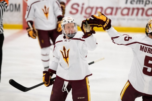 ASU Hockey: Sun Devils complete sweep of New Hampshire, Improve to .500