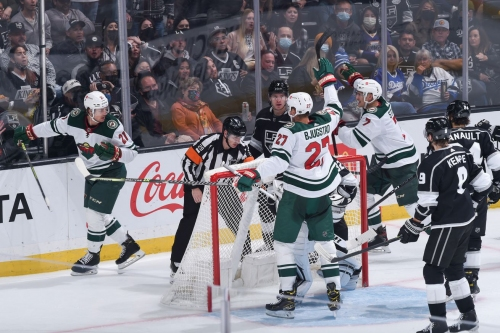 Depth forwards lead Wild to win over Kings