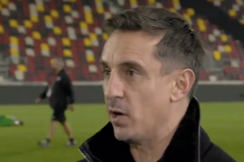 Gary Neville reveals Antonio Conte theory at Manchester United