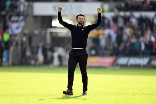 Russell Martin's gushing Swansea City praise as boss admits he got 'carried away' in post-match Cardiff City celebration