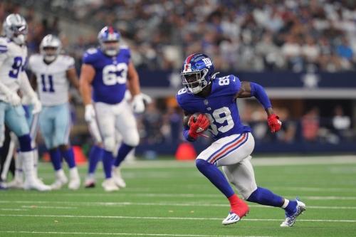 Giants-Rams inactives: Kadarius Toney will play; Darius Slayton out again