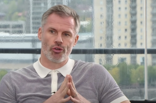 Jamie Carragher winds up Arsenal supporter after making Manchester United claim