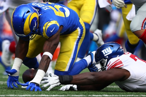 Giants-Rams final score: Giants blown out by Los Angeles, 38-11