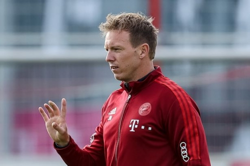 Julian Nagelsmann discusses managing in England amid talk he could be Guardiola's Man City successor