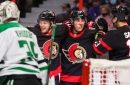 Tierney (Technically) Scores Two Goals in 3-2 Sens Victory Over Stars