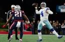 Dak Prescott hurt his calf on the final play of the 35-29 win over the Patriots