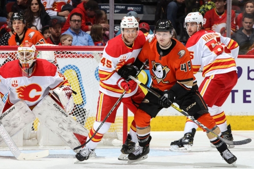 Ducks at Flames Preview: Gibson is back