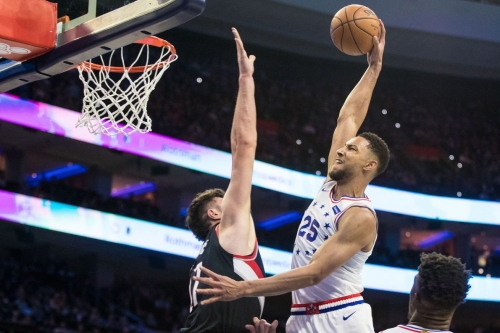 Simmons Suspended During Practice