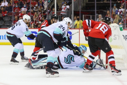 Cryptid Rivalry Gets Kraken— Devils Take the Historic First Meeting 4-2