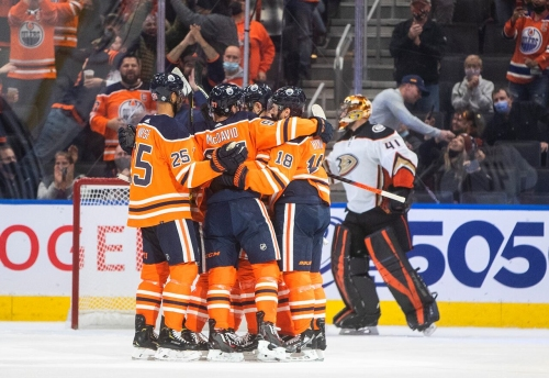 Draisaitl scores No. 200, puts up 4 points in Oilers' victory over Ducks