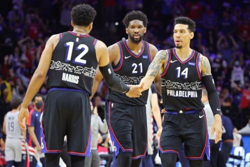 Sixers begin 2021-22 season against Pelicans