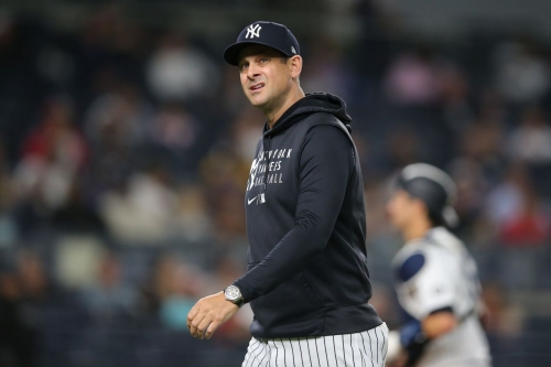 The shine is wearing off of managers like Aaron Boone