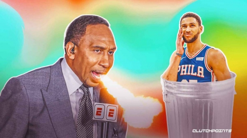 Video: Sixers star Ben Simmons destroyed by Stephen A. Smith after getting the boot from practice