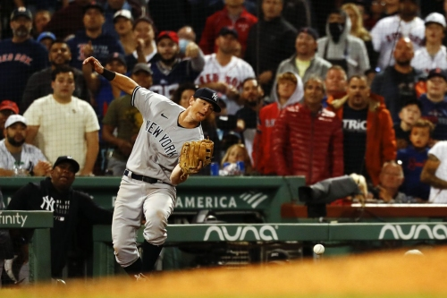 The Yankees' five worst defensive miscues of 2021