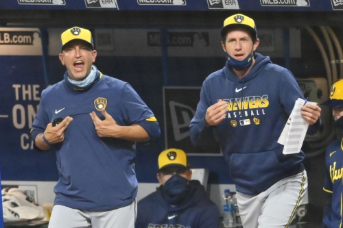 Milwaukee Brewers dismiss hitting coach Andy Haines