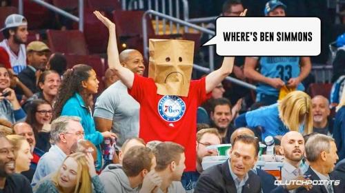 'Where's Ben Simmons?' chants rain on Sixers in season opener