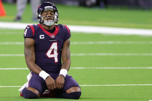 """Report: Eagles had """"recent discussions"""" with Texans about Deshaun Watson trade"""