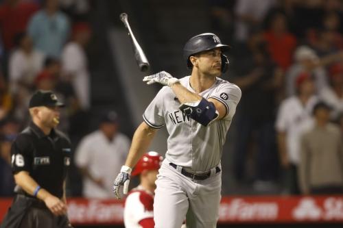 The five longest home runs of the 2021 Yankees season
