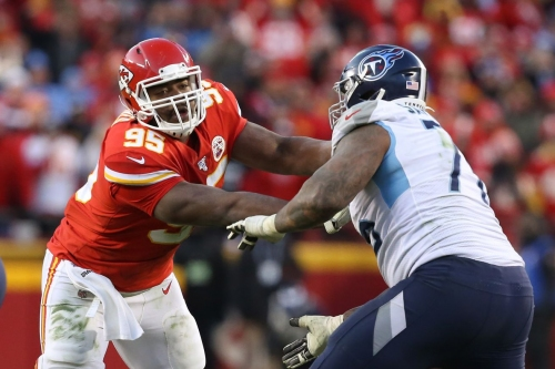 Chiefs discuss potential of moving Chris Jones back to defensive tackle