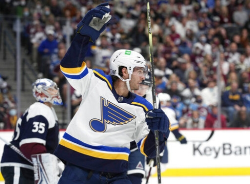 Blues notebook: Saad will miss Kings game due to COVID protocols